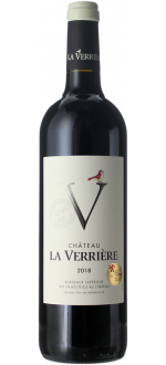 CHATEAU LA VERRIERE 2018