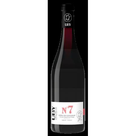 UBY N°7 ROUGE MERLOT-TANNAT 2020 - DOMAINE UBY