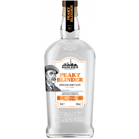 SPICED DRY GIN - PEAKY BLINDER