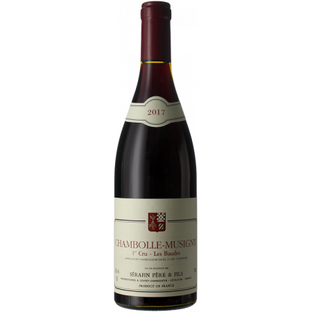 CHAMBOLLE MUSIGNY 1ER CRU - LES BAUDES 2017 - DOMAINE SERAFIN