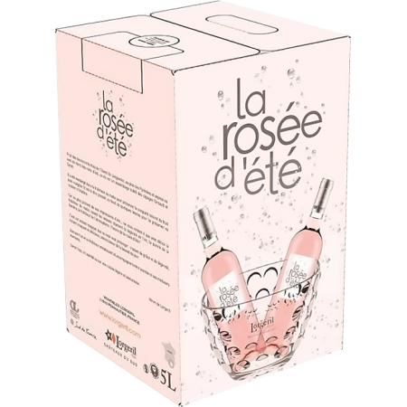BAG-IN-BOX - WEINSCHLAUCH 5L - LA ROSEE D'ETE 2020 - DOMAINE LORGERIL