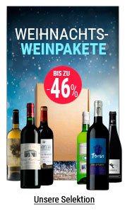 Weihnachts-Weinpakete