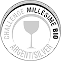 SILBER Medaille - Concours Challenge Millésime Bio 2016
