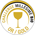 GOLD Medaille - Concours Challenge Millesime Bio 2017