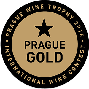 Médaille d'OR - PRAGUE Wine Trophy 2020