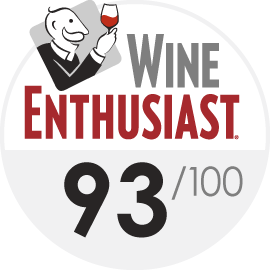 Wine Enthusiast : 93/100