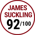 James Suckling : 92/100