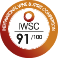 91/100 International Wine and Spirit Competition