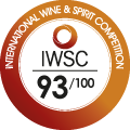 93/100 International Wine and Spirit Competition
